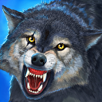 Wolf simulator evolution icon