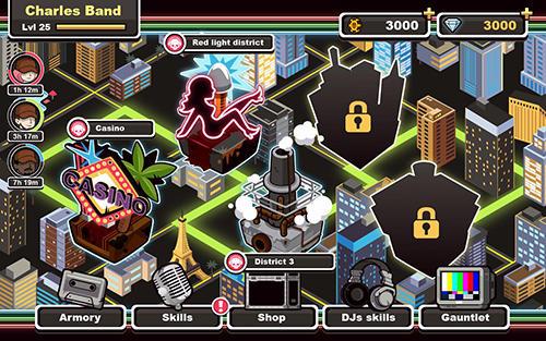RPG-Spiele Zombie DJs für das Smartphone