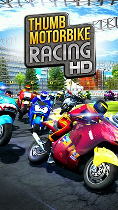 Thumb motorbike racing Screenshot