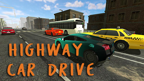 アイコン Highway car drive