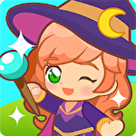 Magic school story icon