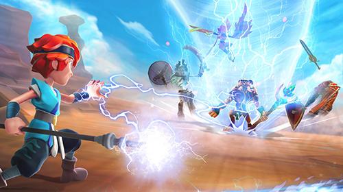 RPG-Spiele Might and magic: Elemental guardians für das Smartphone