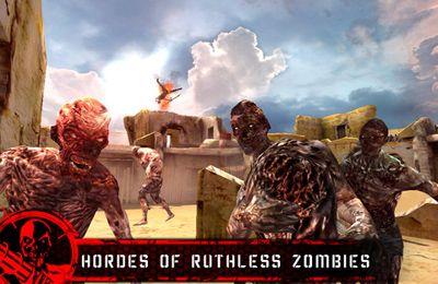 Zombie en el desierto. La última posición en español