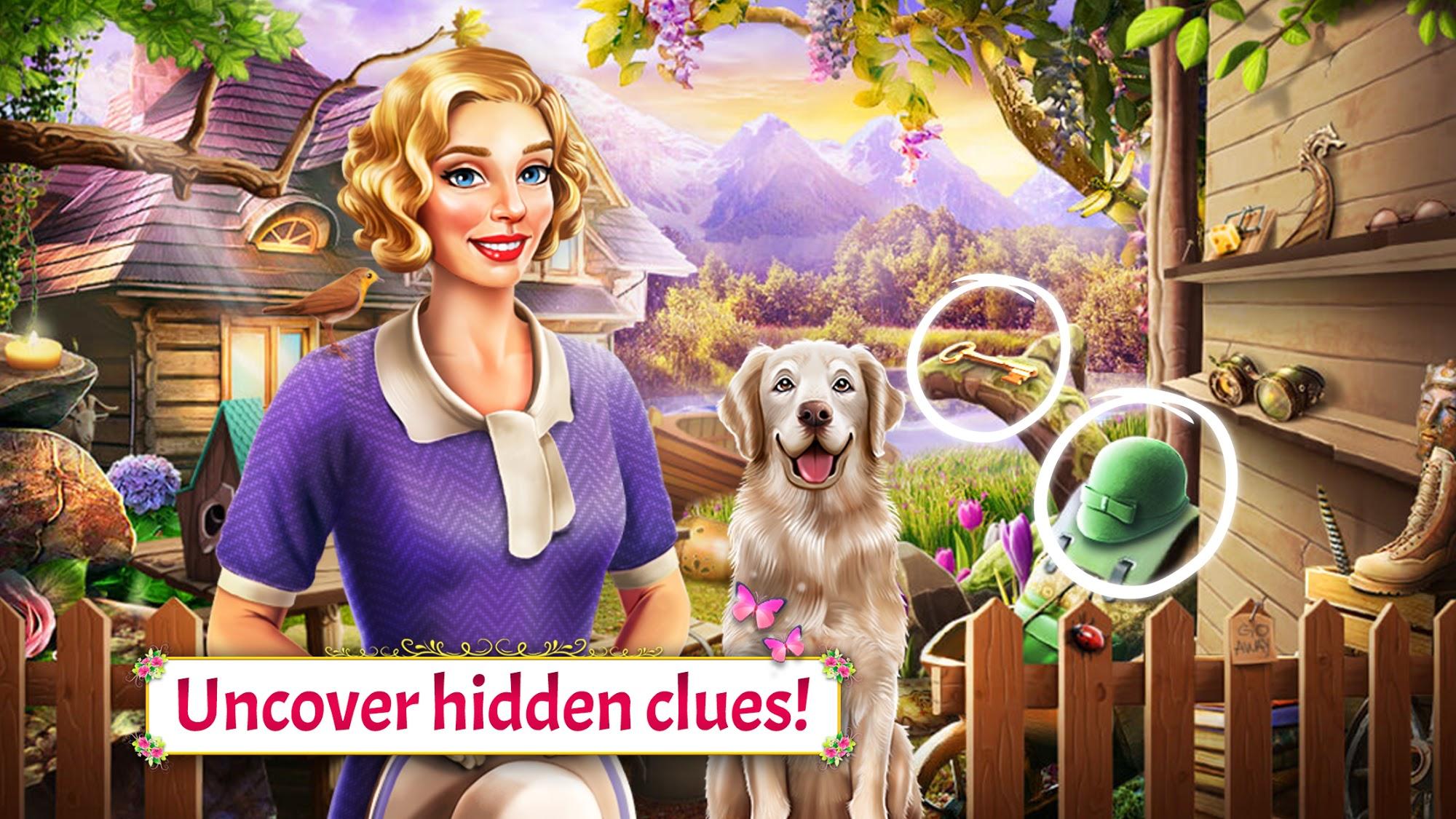 Lynda's Legacy - Hidden Objects captura de pantalla 1