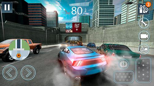 Extreme car driving simulator 2 captura de tela 1