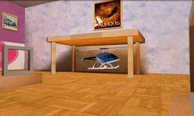 Simulator-Spiele Helidroid 3D für das Smartphone