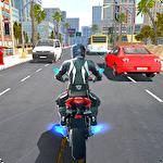 Moto rider Symbol