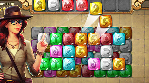 Jones adventure mahjong: Quest of jewels cave for Android