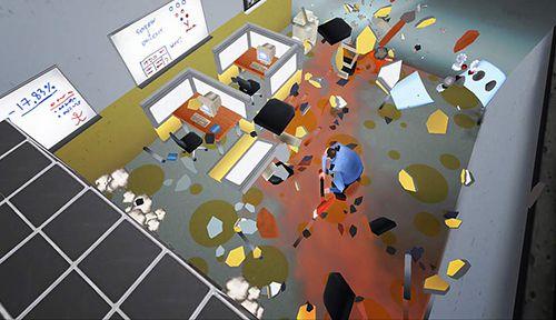 Super Zerschlag das Büro: Endlose Zerstörung für iPhone
