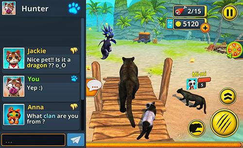 Tiere Puma family sim online auf Deutsch