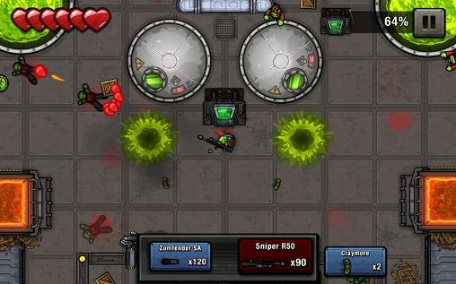 Zombie scrapper Screenshot