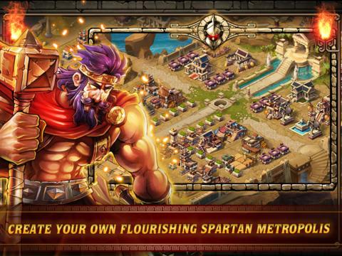 Strategiespiele: Lade Kriege von Spartan: Elite Edition auf dein Handy herunter