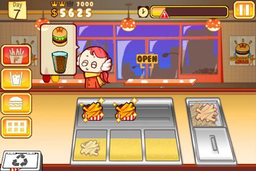 Screenshot Burger Queen auf dem iPhone