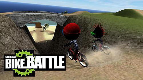 Stickman bike battle captura de tela 1
