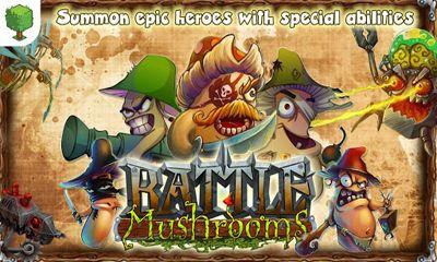 Strategiespiele Battle Mushrooms für das Smartphone