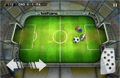 Спортивные игры Soccer Rally: Euro 2012 на русском языке