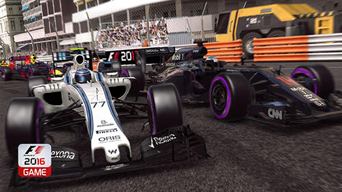 Formula 1 2016 game for Android