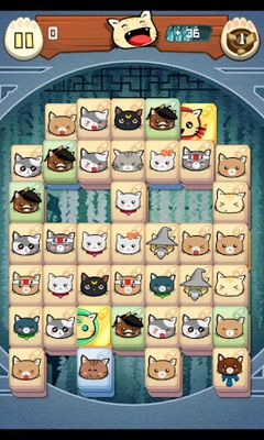 Hungry Cat Mahjong für Android