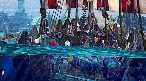 Hidden objects vikings: Picture puzzle viking game für Android
