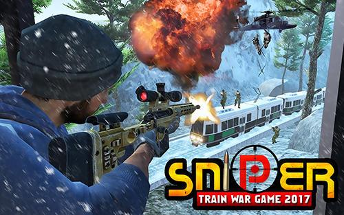 Sniper train war game 2017 icône