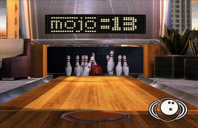 Bowling-Bahn für iPhone