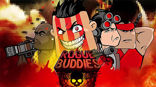 Rogue buddies: Action bros! Symbol