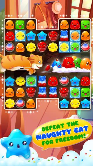 Screenshot Jelly mania on iPhone
