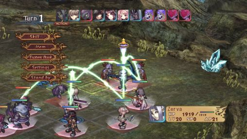 RPG Record of Agarest war für das Smartphone