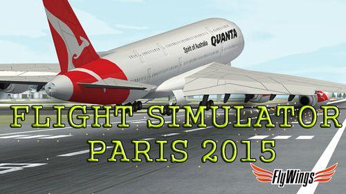 логотип Симулятор полётов: Париж 2015