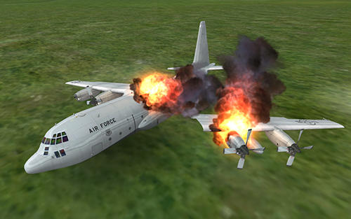 Simulation Cargo airplane simulator 2017 für das Smartphone
