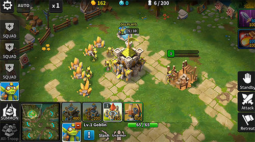 Tales arena: This is the RTS games on your palm Screenshot