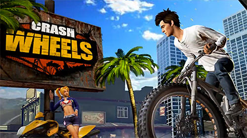 Crash wheels 3D captura de tela 1