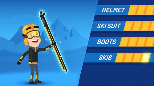 Ski jump challenge auf Deutsch