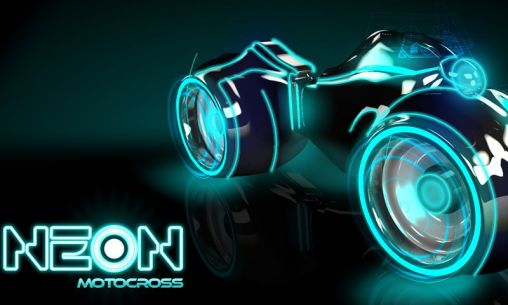 Neon motocross + screenshots