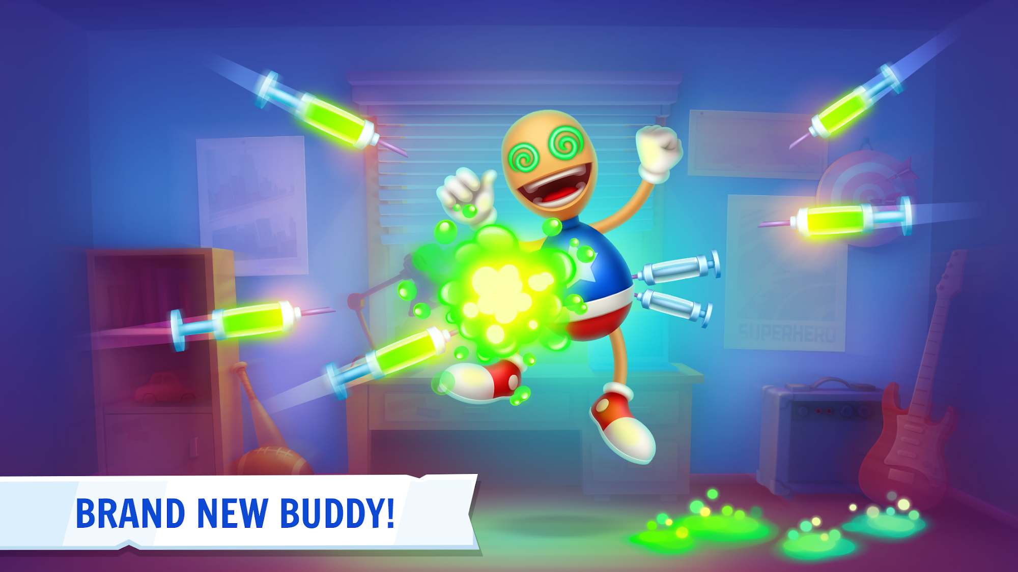 Kick the Buddy 3D скриншот 1