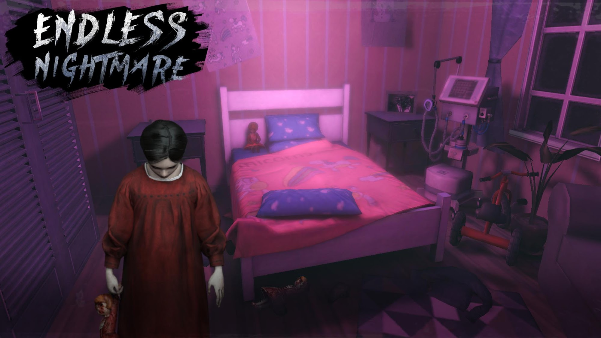 Endless Nightmare: 3D Creepy & Scary Horror Game captura de tela 1