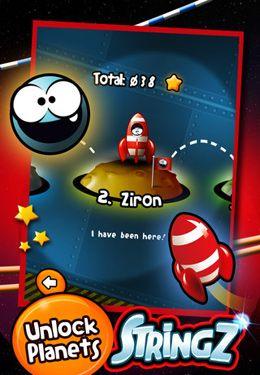 Screenshot StringZ-HD auf dem iPhone