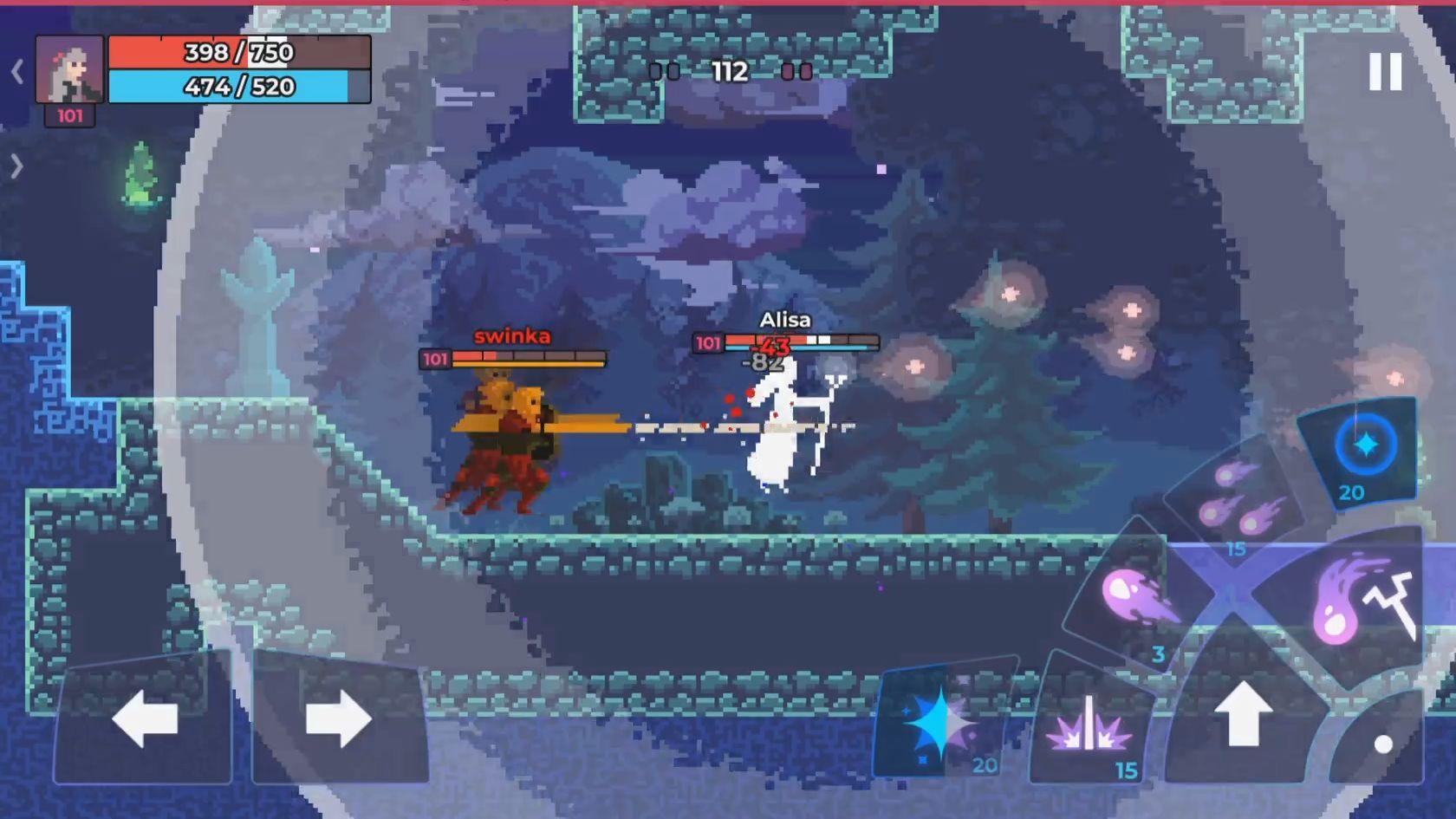 Moonrise Arena - Pixel Action RPG скріншот 1