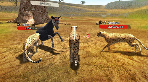 The cheetah: Online simulator captura de tela 1