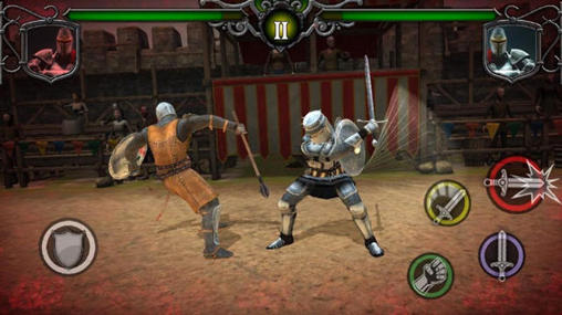Knights fight: Medieval arena скриншот 2