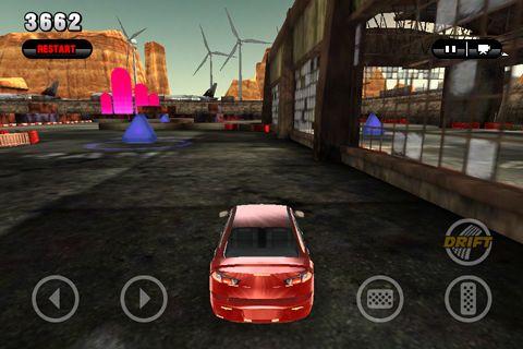 Screenshot RPM: Gymkhana Rennen auf dem iPhone