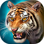 The tiger: Online simulator icon