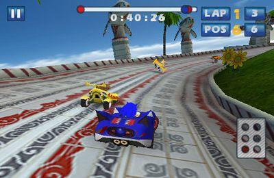Screenshot Sonic & SEGA All-Stars Racing on iPhone