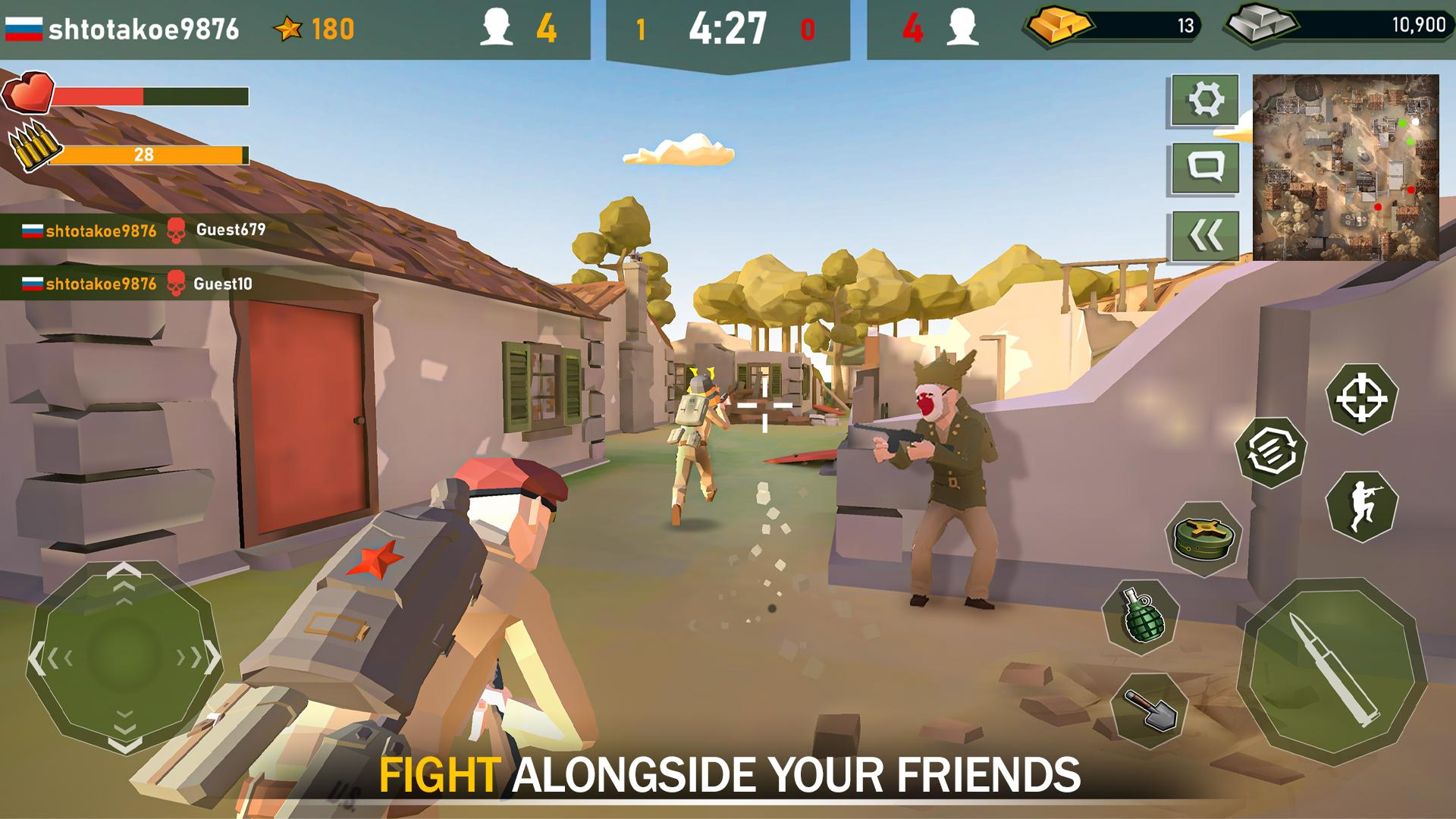 War Ops: WW2 Action Games screenshot 1