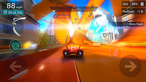Hot wheels infinite loop captura de pantalla 3