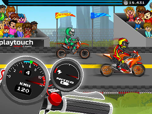 Moto quest: Bike racing for Android