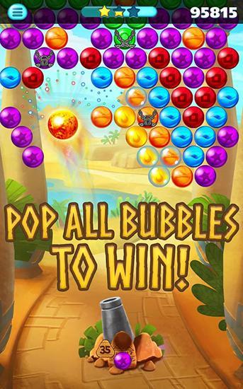 Egypt pop bubble shooter captura de pantalla 1