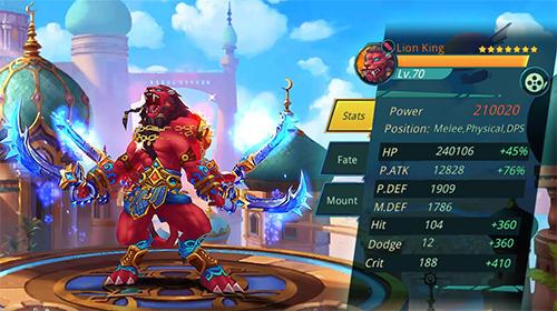 Online RPGs The arabian nights auf Deutsch