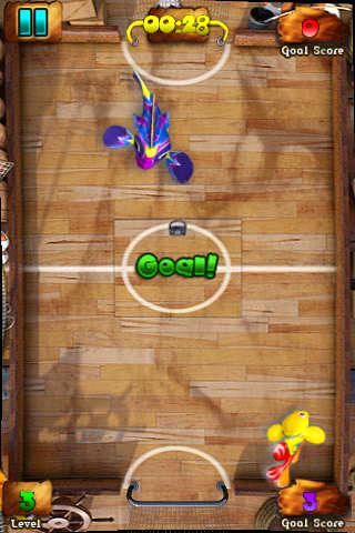 Screenshot Fisch Fußball: Shootout auf dem iPhone