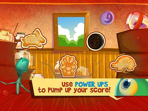 Captura de tela Corrida de comilões de biscoitos no iPhone